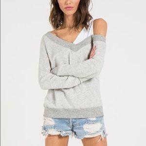 n :Philanthropy Valero Sweatshirt Off Shoulder